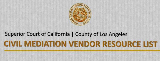 LA Court Vendor List