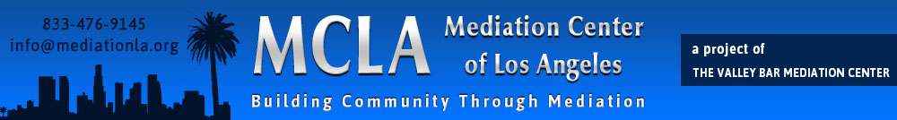 Mediation Center of Los Angeles MCLA
