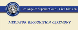 LASC Mediator Recognition Ceremony News